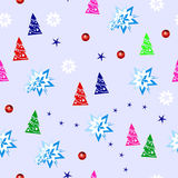 New Year pattern Royalty Free Stock Image