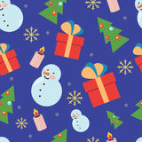 New Year Pattern Stock Images