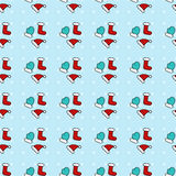 New Year pattern Royalty Free Stock Photography