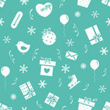 New Year pattern 3 Royalty Free Stock Images