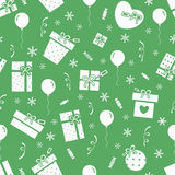 New Year pattern 4 Stock Photography