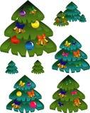New Year, pine Stock Image