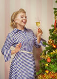 New year pinup Stock Photo