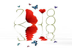 New year 2018 Stock Image