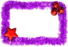 New year postacard Stock Image