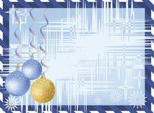 New-year postal Royalty Free Stock Image