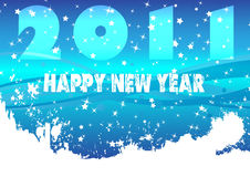 New year poster. Clip-art Stock Photo