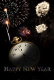 New Year Poster Royalty Free Stock Photo