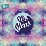 New Year Poster. Stock Photography