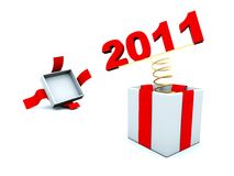 New year present Royalty Free Stock Photography