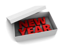 New year present Royalty Free Stock Images