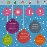 2015 new year presentation template Stock Photography