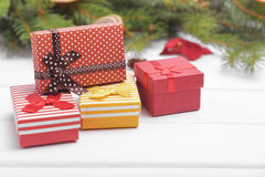 New Year presents. Royalty Free Stock Photo