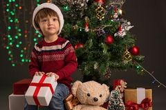 New Year presents Stock Image