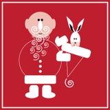 New Year of the Rabbit Stock Photo