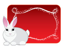 New year rabbit: variant Royalty Free Stock Image