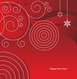 New_Year Red vector illustration