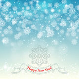New Year retro background vector Royalty Free Stock Image