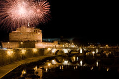 New Year in Rome Royalty Free Stock Image