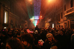 New year in rome Stock Photo