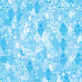 New Year, Russian pattern, Hohloma, Russia Stock Image