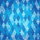 New Year, Russian winter patchwork pattern, Russia Royalty Free Stock Photo