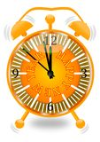 New Year's alarm Royalty Free Stock Images