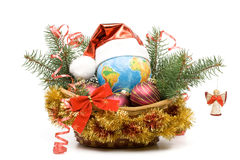 New Year S And Christmas Decoration Stock Photos