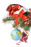New Year S And Christmas Decoration Royalty Free Stock Images