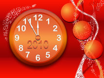 New Year's background Stock Photos
