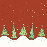 New year's background vector illustration
