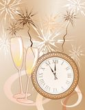 New year's background Stock Images
