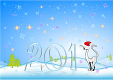 New Year's background Royalty Free Stock Photos
