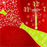 New year's background Stock Photography