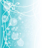 The New year's background. Royalty Free Stock Photo