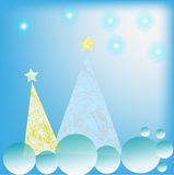 New Year's background. Royalty Free Stock Photos