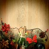 Christmas, decoration, background, holiday, New Year royalty free stock photography