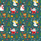 New Year's background, Christmas wallpaper Stock Images