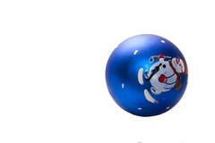 New year's ball. Christmas ball, Christmas tree ornament Royalty Free Stock Photo