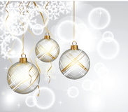New Year S Balls Royalty Free Stock Image