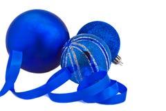 New Year's balls Stock Photo