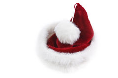 New Year's cap. Isolated New Year's cap on a white background Royalty Free Stock Photo