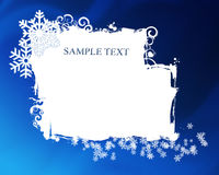 New Year's card Stock Photo