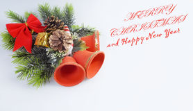 New Year's card.  Royalty Free Stock Photos