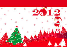 New Year's card Stock Image