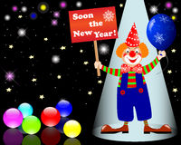New Year's card. Royalty Free Stock Images
