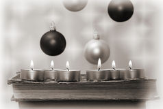 New Year's card Stock Images
