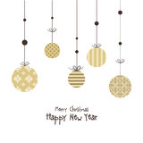 New years card Stock Images