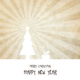 New year's card. With copy space Stock Photography