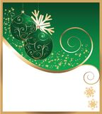 New Year's card.Vector Stock Photo